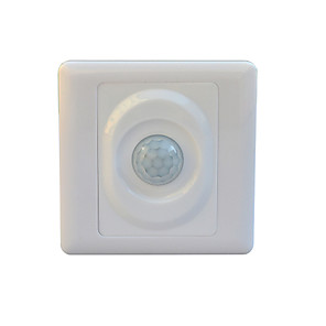 cheap Switches & Sockets-JIAWEN Optically-Controlled  LED Human Body Inductive Motion Sensor Wall Switch