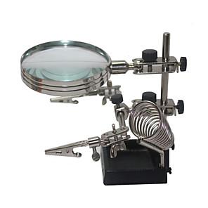 ieftine Microscop & Endoscop-ajutând lipit mâna a treia stea cu lupă 5x