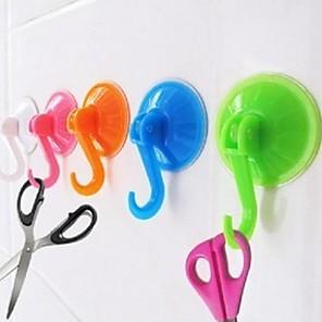 ieftine Gadget Baie-vid ucker cârlig baie bucătărie îmbrăcăminte strat de perete uction ceasca cuier