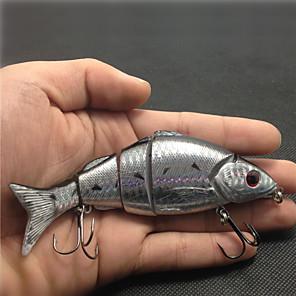 ieftine Momeală Pescuit-1 pcs Δόλωμα Plevușcă Plutire Bass Păstrăv Ştiucă Pescuit mare Aruncare Momeală Pescuit la Copcă Plastic / Filare / Pescuit la Oscilantă / Pescuit de Apă Dulce / pescuit de Crap / Pescuit Biban