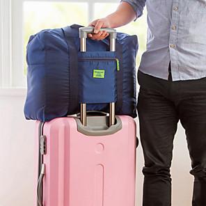 お買い得  LED T シャツ-1個 旅行かばん トラベルオーガナイザー 旅行かばんオーガナイザー 大容量 防水 携帯用 のために クロス オックスフォード / ソリッド トラベル / 耐久