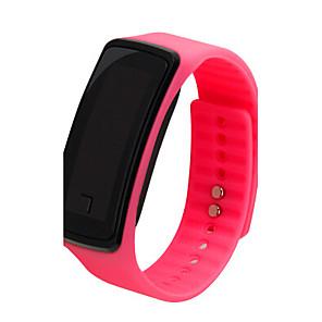ieftine Cuarț ceasuri-Pentru femei Ceas Sport Ceas La Modă Digital LCD Piloane de Menținut Carnea Alb Negru Mov