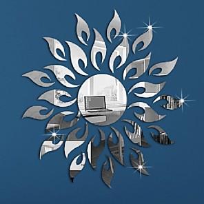 baratos Decoração de parede-Desenho Animado Adesivos de Parede Autocolantes de Parede Espelho Autocolantes de Parede Decorativos, Vinil Decoração para casa Decalque Parede Decoração / Removível