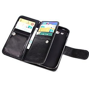 ieftine Câini Gulere, hamuri și Curelușe-Maska Pentru Samsung Galaxy Grand Prime / Core Prime Portofel / Titluar Card / Întoarce Carcasă Telefon Mată PU piele