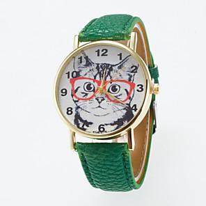 ieftine Cuarț ceasuri-Pentru femei Ceas de Mână Quartz Piele PU Matlasată Negru / Alb / Albastru Ceas Casual Analog Charm Clasic Modă - Albastru Roz Kaki Un an Durată de Viaţă Baterie / Jinli 377