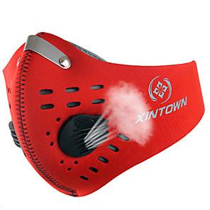 ieftine Cagule și măști pentru față-XINTOWN Mască sport Face Mask Rezistent la Vânt Respirabil Rezistent la Praf Limită Bacterii Bicicletă / Ciclism Rosu Portocaliu Albastru Iarnă pentru Bărbați Pentru femei Adulți Sporturi de Agrement