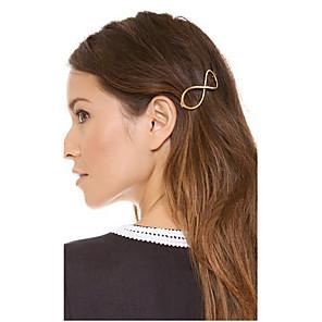 ieftine Bijuterii de Păr-Pentru femei Agrafe de păr Pentru Petrecere Zilnic Casual Aliaj Auriu Argintiu