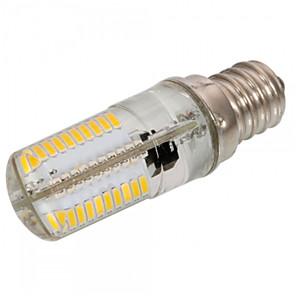 voordelige 2-pins LED-lampen-1pc 4 W 300-350 lm E12 / E17 / E11 LED-maïslampen T 80 LED-kralen SMD 3014 Dimbaar / Decoratief Warm wit / Koel wit 220-240 V / 110-130 V / 1 stuks / RoHs