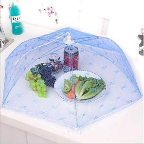 ieftine Ustensile Bucătărie & Gadget-uri-petrecere bucătărie produse alimentare de masă acopere umbrelă depozitare de pliere a ochiurilor de plasă dantelă cadru metalic de culoare