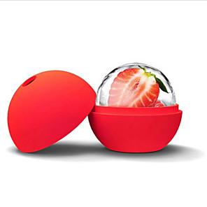 ieftine Ustensile Bucătărie & Gadget-uri-silicon gheață mucegai gheață crema de diapozitive dia 4.5cm