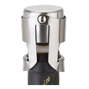ieftine Produse de Bar-sticlă de sticlă din oțel inoxidabil opritor pentru butelii portabile cap de barieră portabilă