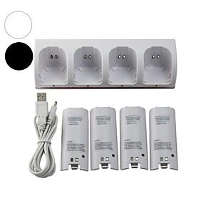 ieftine Accesorii Wii-WII Audio și Video Încărcător / Baterii Pentru Wii U / Wii . Mini Încărcător / Baterii MetalPistol / ABS 1 pcs unitate