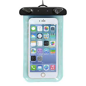 abordables Interruptores  y Enchufes-Bolso del teléfono celular para iPhone X iPhone XR iPhone XS Impermeable Ligero PVC Plástico / iPhone XS Max / iPhone XS Max