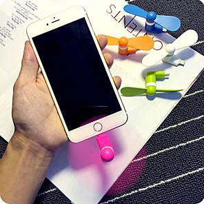 ieftine Organizatoare Birou-super-practice super-putere mini telefon mobil mini ventilator pentru iPhone 5/5 sec / 6 / 6S / 6, plus / 6S plus
