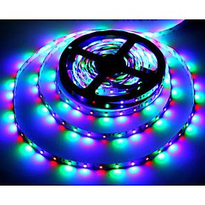 ieftine Benzi Lumină LED-Zdm® 5m rgb benzi lumini 300 leduri 2835 smd 2835 smd 1 buc rgb cuttable party decorative 12 v / auto-adeziv