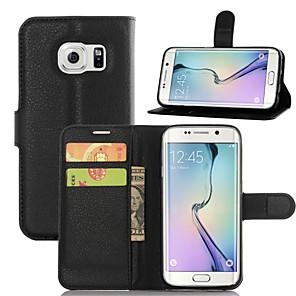 Недорогие Защитные плёнки для экранов Samsung-Кейс для Назначение SSamsung Galaxy A3 (2017) / A5 (2017) / A7 (2017) Бумажник для карт / со стендом / Флип Чехол Однотонный Кожа PU