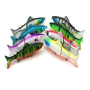 ieftine Produse Fard-8 pcs Δόλωμα Momeală Dură Plevușcă Scufundare Bass Păstrăv Ştiucă Pescuit de Apă Dulce Momeală pescuit Pescuit cu undițe tractate & Pescuit din barcă Plastic