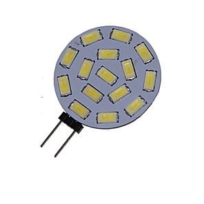 ieftine Becuri LED Bi-pin-1.5 W Spoturi LED 3000-3500/6000-6500 lm G4 MR11 15 LED-uri de margele SMD 5730 Decorativ Alb Cald Alb Rece 12 V 24 V / 1 bc / RoHs