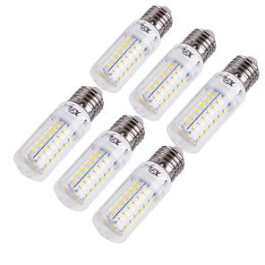 ieftine Becuri LED Corn-YouOKLight 6pcs 15 W Becuri LED Corn 1350 lm E14 E26 / E27 T 56 LED-uri de margele SMD 5730 Decorativ Alb Cald Alb Rece 220-240 V 110-130 V / 6 bc / RoHs