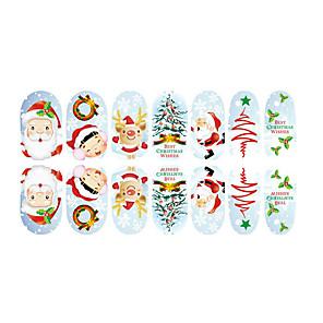ieftine Ustensile & Gadget-uri de Copt-fluorescență minunat de Crăciun unghiilor bijuterii