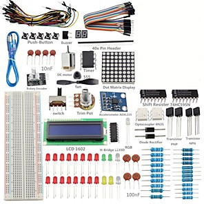 ieftine Cabluri Ethernet-proiect Kit super-starter pentru Arduino UNO r3 mega2560 mega328 nano