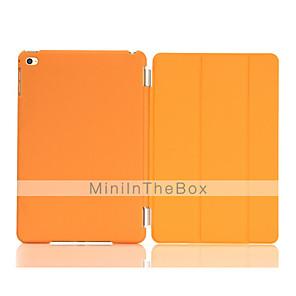 ieftine Becuri Solare LED-Maska Pentru Apple iPad Mini 4 Cu Stand / Auto Sleep / Wake / Origami Carcasă Telefon Mată PU piele