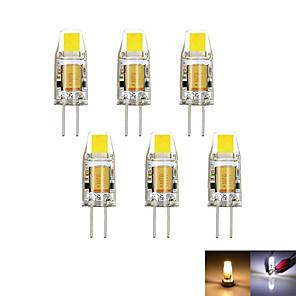 ieftine Becuri LED Bi-pin-2W G4 Becuri LED Bi-pin MR11 1 led-uri COB Decorativ Intensitate Luminoasă Reglabilă Alb Cald Alb Rece 100-150lm 3000-6000K DC 12 AC 12V