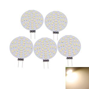 ieftine Conectori-SENCART 5pcs 3 W Spoturi LED 400-480 lm G4 MR11 36 LED-uri de margele SMD 3014 Decorativ Alb Cald Alb Rece 12 V / 5 bc / RoHs