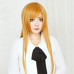 ieftine Bijuterii Lolita-SIDA Alicizare Asuna Yuuki Peruci de Cosplay Pentru femei 32 inch Fibră Rezistentă la Căldură Portocaliu Anime
