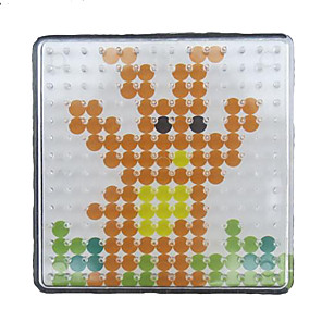 ieftine alte DIY-1buc șablon clar pegboard 7,5 * 7,5 cm pătrat de margele 5mm HAMA Perler margele margele de siguranțe