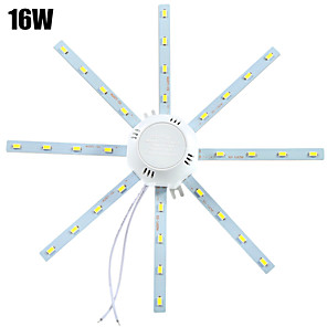 ieftine Becuri LED Plafon-YWXLIGHT® 1 buc 16 W 1280 lm 32 LED-uri de margele SMD 5730 Decorativ Alb Rece 220-240 V / 1 bc / RoHs