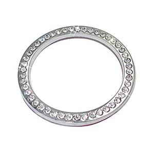 ieftine Console & Organizatoare-ziqiao accesorii decorare auto buton auto inel cu buton de diamant