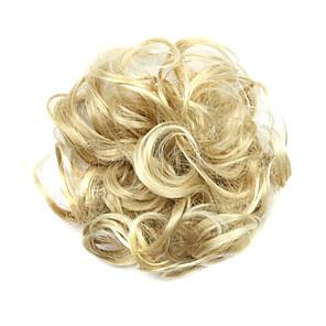 ieftine Extensii de Păr-Peruci Sintetice Meșe Buclat Clasic Clasic Buclat Frizură în Straturi Perucă Scurt înălbitor Blonde Păr Sintetic Pentru femei updo