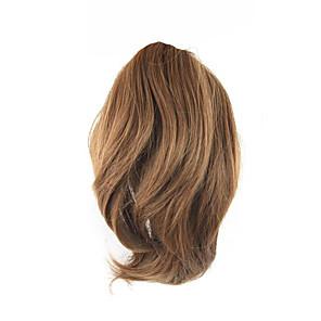 ieftine Extensii de Păr-Cu Clape Buclat Coadă de cal Cârlig de prindere / clapă Fir de păr Extensie de păr 10 inch Maro auriu