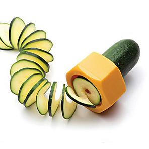 ieftine Ustensile Bucătărie & Gadget-uri-creativ creion ascuțitoare feliator spirală fructe castravete alimente și legume curățător cutplane ușor pentru feliat