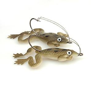 ieftine Momeală Pescuit-4 pcs Δόλωμα Broască Plutire Bass Păstrăv Ştiucă Pescuit mare Filare Pescuit de Apă Dulce Plastic moale / Pescuit Biban / Momeală pescuit / Pescuit în General