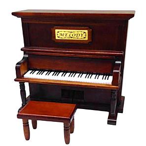 povoljno Naušnice-drva smeđa kreativni romantična glazbena kutija za poklon