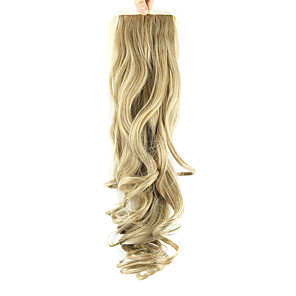 ieftine Peruci & Extensii de Păr-Păr Sintetic Fir de păr Extensie de păr Stil Ondulat