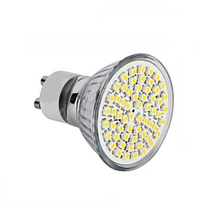 ieftine Spoturi LED-1 buc 3.5 W Spoturi LED 300-350 lm GU10 GU5.3(MR16) E26 / E27 MR16 60 LED-uri de margele SMD 2835 Decorativ Alb Cald Alb Rece 220-240 V 12 V 110-130 V / 1 bc / RoHs