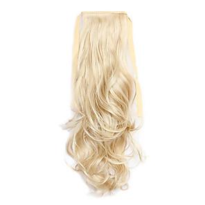 ieftine Extensii de Păr-Cu Clape Coadă de cal Lega Păr Sintetic Fir de păr Extensie de păr Buclat / Ondulat
