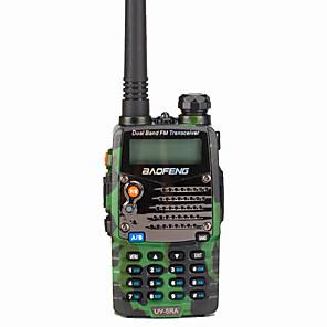 ieftine Walkie Talkies-interfon portabil baofeng uv-5ra walkie talkie / prompt vocal digital / display dual 1.5km-3km 1.5km-3km 128 1800 mah 5w radio cu două sensuri / 136-174mhz / 400-520mhz / transceiver dual band