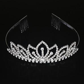 ieftine Bijuterii Lolita-Aliaj Diademe / Veșminte de cap cu Floral 1 buc Nuntă / Ocazie specială Diadema
