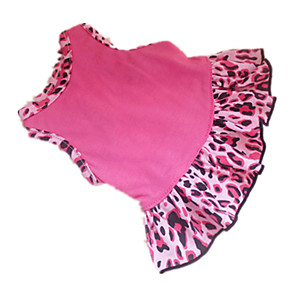 ieftine Imbracaminte & Accesorii Căței-Câine Rochii Îmbrăcăminte Câini Roz trandafiriu Costume Bumbac Inimă Animal XXS XS S M L