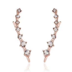 ieftine Cercei-Bărbați Pentru femei Petrecere Casual Modă cercei Bijuterii Auriu / Argintiu Pentru Zilnic Casual