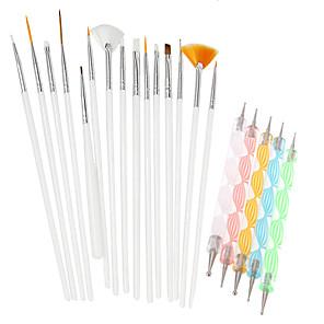ieftine Îngrijire Unghii-Kit Acrilic Unelte pentru unghii Pentru Unghie Unghie deget picior Pensulă Acrilic Încântător nail art pedichiura si manichiura Șic & Modern / La modă