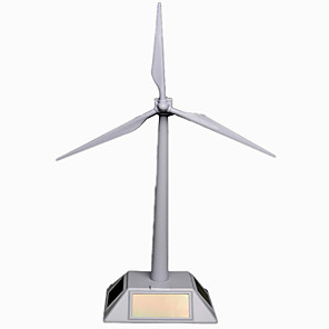cheap Display Models-Toy Car Solar Powered Toy Windmill Windmill Professional Level Professional Solar Powered Plastic Kid's Adults' Boys' Girls' Toy Gift 1 pcs