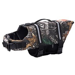 ieftine Imbracaminte & Accesorii Căței-Câine Float pentru câine Vestă de Salvare Iarnă Îmbrăcăminte Câini Reflexiv Costume Nailon camuflaj Impermeabil XXS XS S M L XL