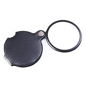 ieftine lanterne-Lupe Utilizare Generală / Cititor Pliere / Generic / High Definition / Mâner 6X 50mm Normal PU piele