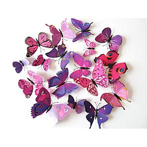 ieftine Acțibilde de Decorațiuni-#D Perete Postituri Animal Stickers de perete Autocolante de Perete Decorative, Vinil Pagina de decorare de perete Decal Perete Decor / Detașabil / Re-poziționabil
