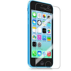 ieftine Protectoare Ecran de iPhone SE/5s/5c/5-Ecran protector pentru Apple iPhone 6s / iPhone 6 / iPhone SE / 5s 2 buc Ecran Protecție Față High Definition (HD)